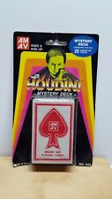 Sealed Vintage AMAV Industries - THE GREAT HOUDINI MYSTERY DECK - Magic Cards
