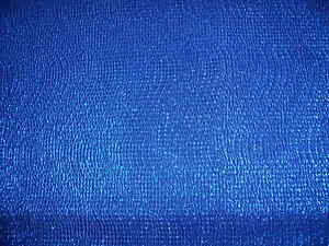 SHIMMER CRINKLE STRETCH JERSEY- ROYAL BLUE-DRESS FABRIC-FREE P&P