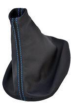 Punto azul se adapta a Seat Toledo Mk2 Leon Mk1 1999-2005 Gear Gaitor 100% Negro Lthr