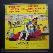 Yepes, Manuel De Falla - Aranjuez / Noches En Los Jardines LP VG+ TW 91019