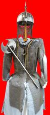 Qajar Dynasty Persian Islamic Warrior's Body Armor,Helmet & Tabar Axe (shamshir)