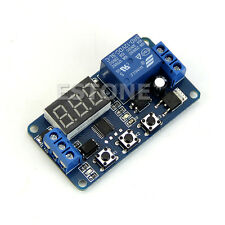 LED Home Automation 12V Delay Timer Control Switch Relay Module Digital display