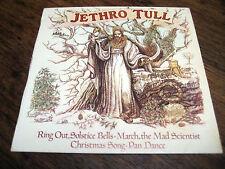 JETHRO TULL ~ Ring, Le Solstice CLOCHES ~ 4 track E.P. Chrysalis X-11, 808 aus. ~ EX +