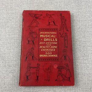 International Musical Drills Breathing & Home Exercises W/ Original Drawing 1909