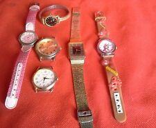 bulk watches citizen, quartz, sekonda, ladys, kids mens as is