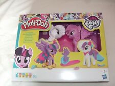 New Play-doh My Little Pony Princess Twinkle Sparkle & Rarity Fashion Fun
