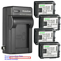 Kastar Battery Wall Charger for Canon BP-808 CG800 Canon VIXIA HF M400 Camcorder