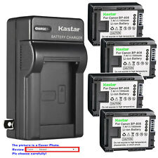 Kastar Battery Wall Charger for Canon BP-808 CG-800 & Canon FS100 Camcorder