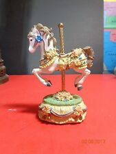 Heritage House Melodies County Fair Carousel Horse Somewhere Over The Rainbow