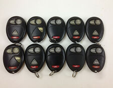 LOT OF 10 REMOTE OEM KEYLESS ENTRY 02-11 GM HUMMER PONTIAC OLDSMOBILE DELPHI FOB
