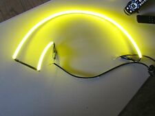 "Shock Top ""Yellow"" Border Tubing Beer Neon Sign Part Outline Bar Type 2 D3"