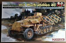 DRAGON 6284 - Sd.Kfz.251/2 Ausf.C mit WURFRAHMEN 40 - 1/35 PLASTIC KIT NUOVO