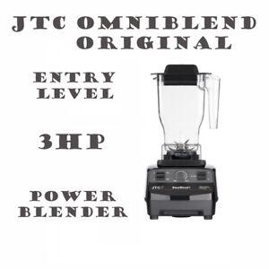 JTC OmniBlend One Original Blender Base 1 Jug Ice Crusher Smoothie Milkshake Bar