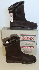 BOBS from Skechers Chocolate Alpine Puddle Jump Mid Calf Boot Sz Wm. 9M NIB