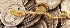 24Kt GP Gold Metal Detector Cap Pin - Garrett, Deus, Tesoro, Minelab, Whites