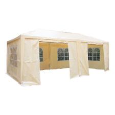 Airwave 6m X 3m Party Tent Marquee Gazebo Two WindBars Waterproof 6 Sides Beige