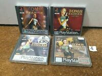 Tomb Raider Bundle 1 2 3 Last Revelation Complete - Playstation 1 PS1 - N4