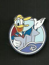 Donald Duck with Map Letter D Splendid Walt Disney Pin