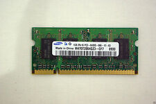 Samsung 1GB DDR2 800MHz 2Rx16 PC2 6400S SODIMM Laptop RAM Memory Stick