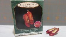 "1999 Hallmark QXM4599 ""Dorothy's Ruby Slippers"" ornament"