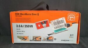 Fein MultiMaster FMM Start Q 350 Watt Oscillating Sanding Sawing Multi Tool QSL