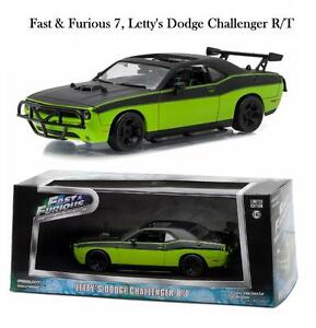 GREENLIGHT FAST & FURIOUS 7 LETTY'S 2014 DODGE CHALLENGER DIECAST CAR 1:43 86230