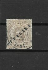 Luxembourg official Scott O25 used