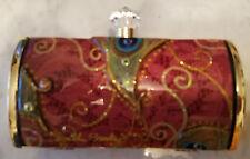 Debbie Brooks Evening Bag - Short Clutch - Red Peacock - Art Nouveau Collection