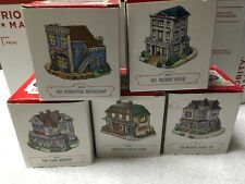 1994 The Americana Collection Lot Of 5 Rare & Collectible Liberty Falls