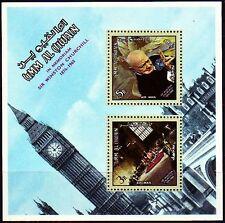 Umm al qiwain 1966 ** bl.4 a Churchill