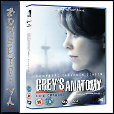 GREYS ANATOMY - COMPLETE SEASON 11  ** BRAND NEW DVD***