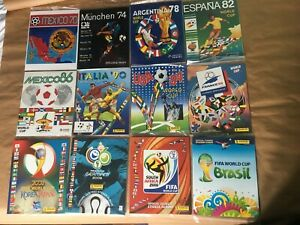 100% ORIGINAL COMPLETE PRINTED ALBUM FIFA WORLD CUP 1970 to 2014 PANINI SEALED