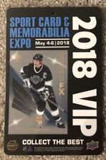 2018 Upper Deck WAYNE GRETZKY Toronto Sports Card Spring Expo VIP Pass