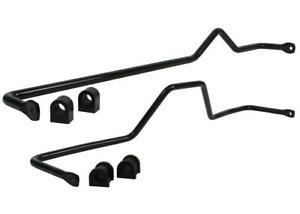 Whiteline Sway Bar Kit Front & Rear BNK015 fits Nissan Patrol 2.8 TD (GQ), 3....