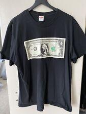 Supreme - Dollar Tee Black T-Shirt Size L Large SS18 Altered States