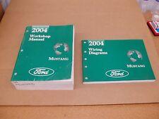 2004 Ford Mustang GT wiring electrical shop service dealer repair manual