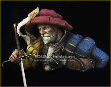 Young Miniatures Landsknecht Bust 1/10th YH1851 Unpainted kit