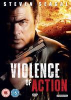 Violence of Action DVD (2012) Steven Seagal, Chartrand (DIR) cert 15 ***NEW***