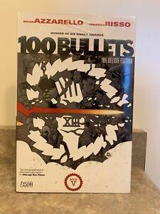 100 Bullets The Deluxe Edition Book 5 Hardcover NEW SEALED 1st Printing Vertigo