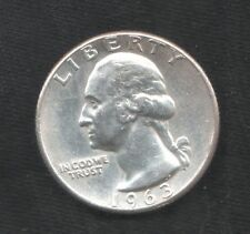 USA 25 CENT GEORGE.WASHINGTON 1963 FDC ARGENTO silver QUARTER dollar mrm