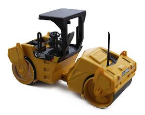 New 1:64 Scale Vibratory Asphalt Compactor Engineering Vehicle Diecast Model