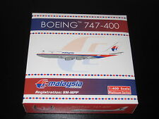 Phoenix Model Malaysian Airlines  B747-400ER. 1:400 Scale. Mint Condition.