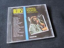 LOWELL FULSON West Coast Blues CD I MAESTRI DEL BLUES DE AGOSTINI NO LP