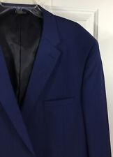 Caravelli Men's Blue Two Button Sport Coat Blazer Suit Jacket Size 50 L