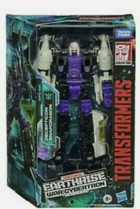 Transformers Earthrise War For Cybertron Decepticon Hasbro figurine Snapdragon