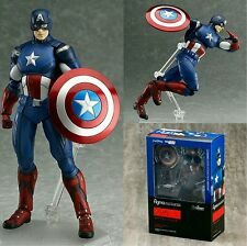 "THE AVENGERS/ CAPITAN AMERICA 16 CM- ACTION FIGURE 6,3""  FIGMA #226 IN BOX"
