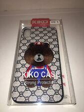 iPhone X case silicone cute Animal Design