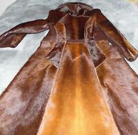 Echter Pelzmantel, ausgefallenes Design, Hand Made aus Hirsch gebraucht G.38