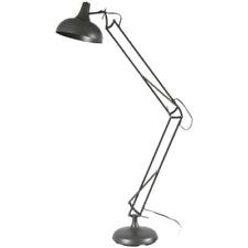 BLANC /  LAMPADAIRE METAL DESIGN ARCHITECTE ARTICULE LAMPE PIED INDUSTRIEL 951
