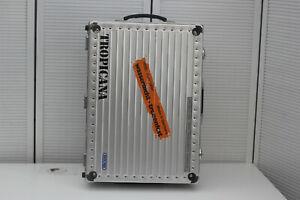 Rimowa Tropicana Case Fotokoffer gross Aluminium L 56 cm H26 cm Breite 40,5 cm